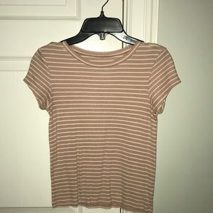 Striped AEO T-shirt